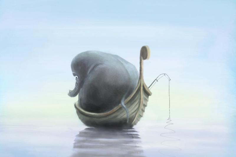 Fiskefanten